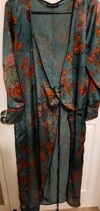 Kimono robe wrap